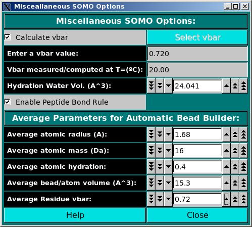 SOMO Miscellaneous Options Module